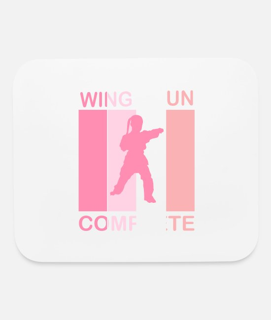 Training Mouse Pads - Wing Chun Complete Mrs. Rosa - Mouse Pad white