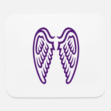 Heart wings - Mouse Pad