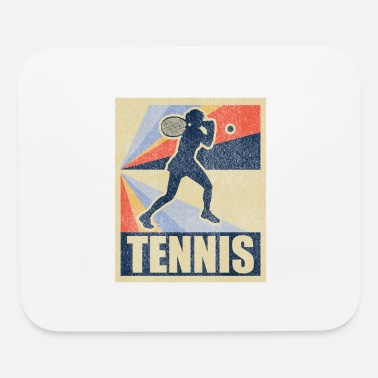 Coach Tennis vintage retro gift - Mouse Pad