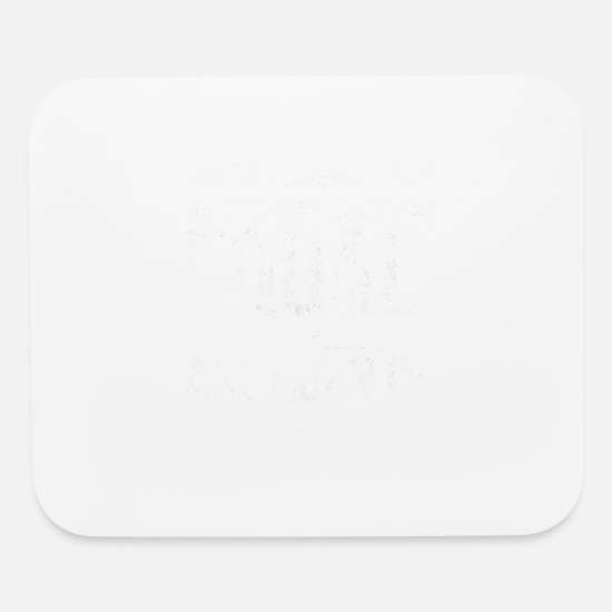 February Mouse Pads - Born in february birthday - Mouse Pad white