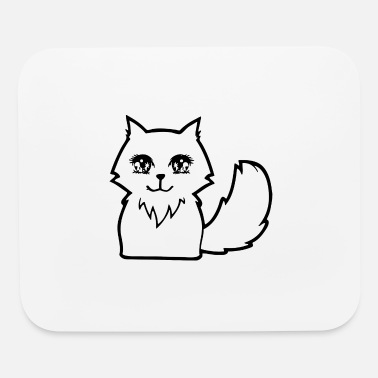Cute Animals Cute Anime Cat - Mouse Pad