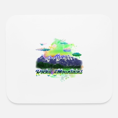 Rocky Mountains rocky mountains 4 j - Mouse Pad