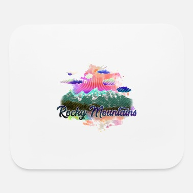 Rocky Mountains rocky mountains 2 j - Mouse Pad
