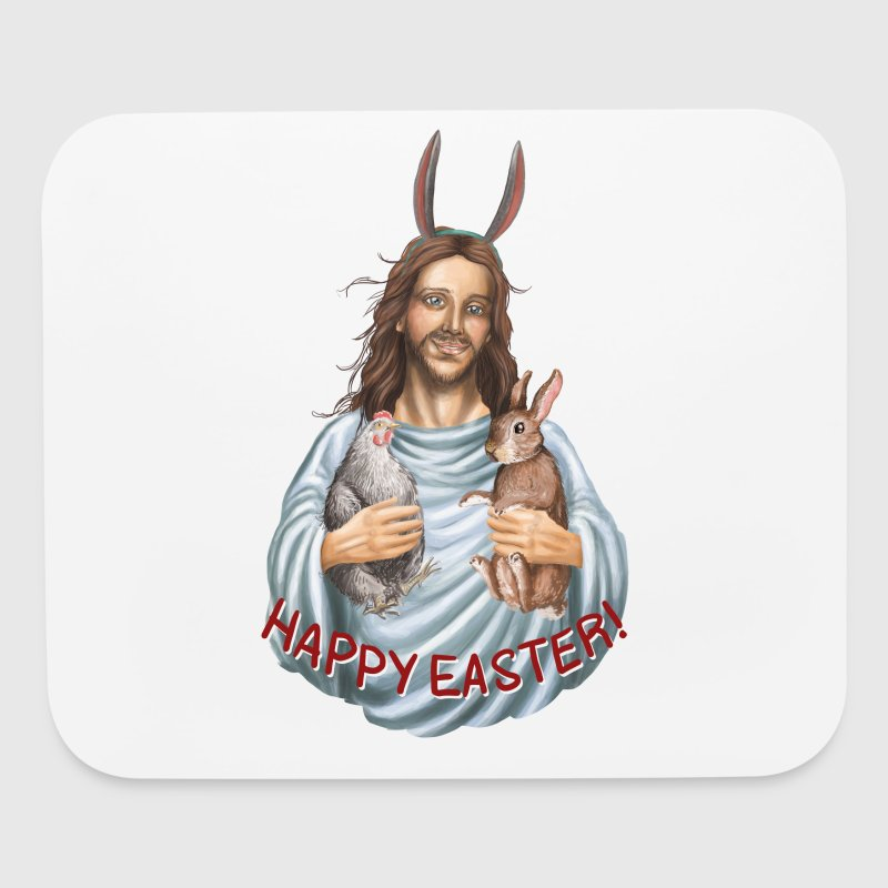 happy easter - jesus - Mouse pad Horizontal