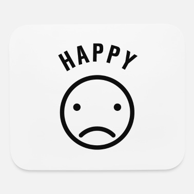 Happy But Sad - Mouse Pad