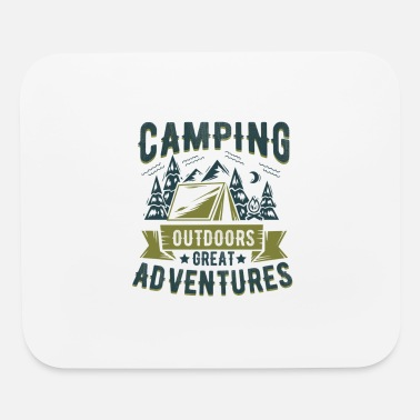 Camp Camping Camp Gift - Mouse Pad