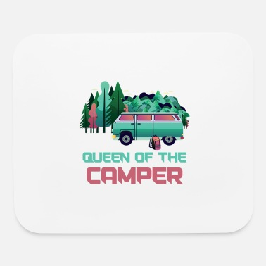 Camp Camping Queen Camping - Mouse Pad