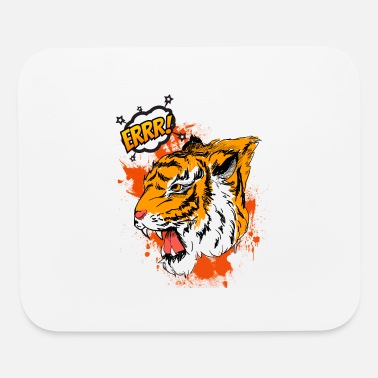 Tiger cool errr! Very nice motive in great colors! - Mouse Pad