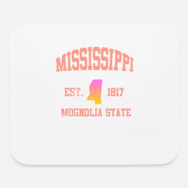 50s Mississippi Mognolia State - Mouse Pad
