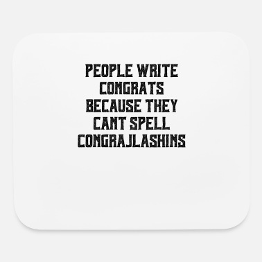 Writing Quotes People Write Congrats - Mouse Pad