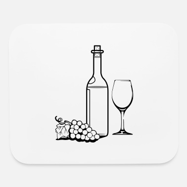 Wine Wine wine bottle red wine - Mouse Pad