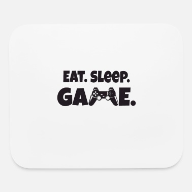 Role Playing Game Eat Sleep Game Shirt - Mouse Pad