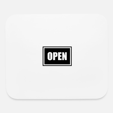 Opened open - Mouse Pad