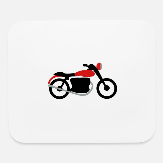 Motorcycle Mouse Pads - motorcycle - Mouse Pad white