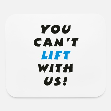 Lifted Lifting - Mouse Pad