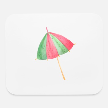 Beach Umbrella Beach Umbrella - Mouse Pad