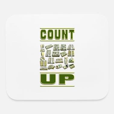 Count Count Up - Mouse Pad