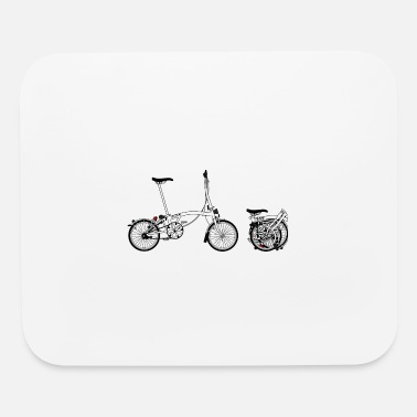 Folding Bike fold bike - Mouse Pad