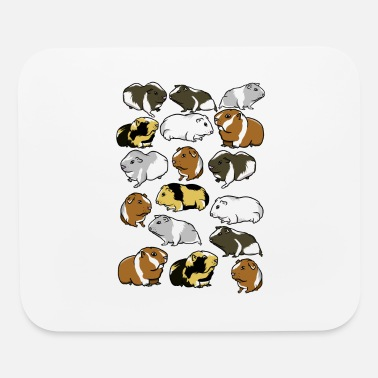Guinea Pig Cartoon guinea pig pattern - Mouse Pad