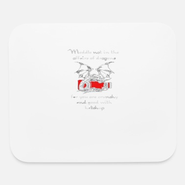 Affair The Affairs of Dragons Logo - Mouse Pad