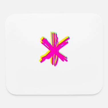 Asterisk asterisk - Mouse Pad