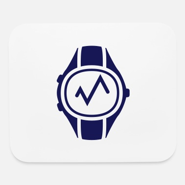 Heart Rate Heart Rate Monitor Watch - Mouse Pad