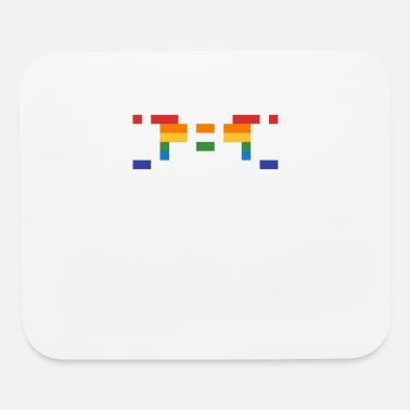 16bit Invader from Space: 16-bit, normal length, wide UF - Mouse Pad