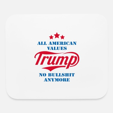Government All American Values No Bullshit Anymore - Mouse Pad