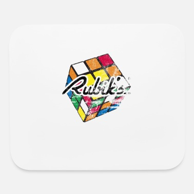 Rubik's Cube Distressed and Faded - Mouse Pad