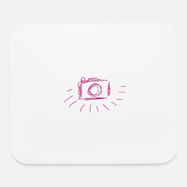Line Drawing camera - line drawing - Mouse Pad