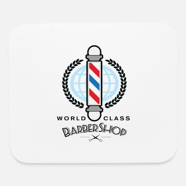 Haircut world-class-barber - Mouse Pad