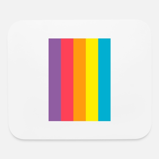 Colourful Mouse Pads - Colourful - Mouse Pad white