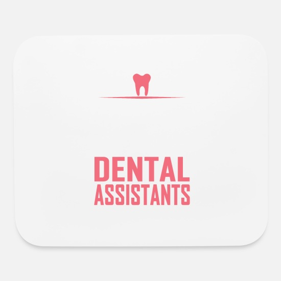 Dental Mouse Pads - dental assistants - Mouse Pad white