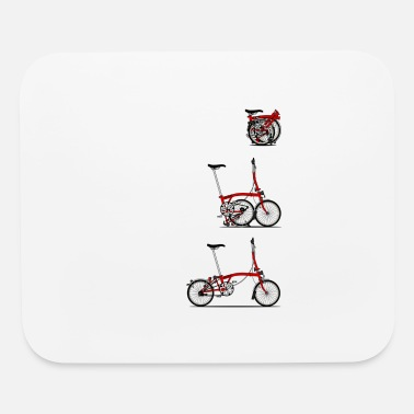 Brompton I Love My Folding Brompton Bike Essential T-Shirt - Mouse Pad
