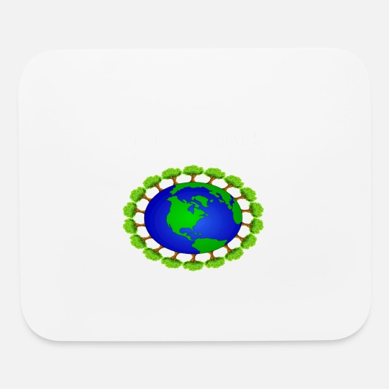 Earth Mouse Pads - global warming - Mouse Pad white
