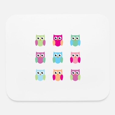 9 owls - Mouse Pad