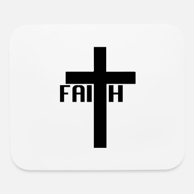 FAITH cross - Mouse Pad