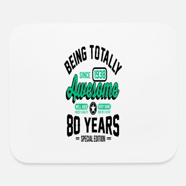 80s Sayings Geek 80 Years Of Being Awesome 1 - Mouse Pad