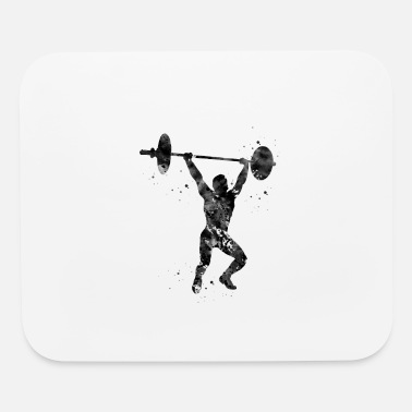 Weightlifting Weightlifting - Mouse Pad
