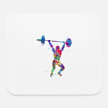 Weightlifting Weightlifting,Weightlifter - Mouse Pad