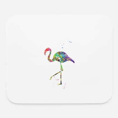 Wading Bird Flamingo - Mouse Pad
