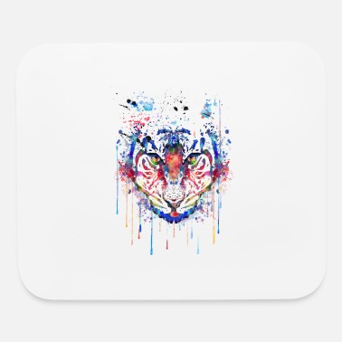 Head Tiger, Tiger head - Mouse Pad