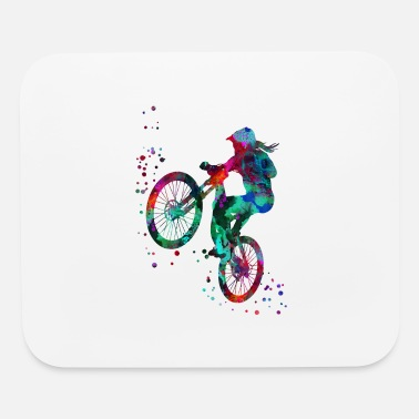 Mountain Bike Mountain biking, mountain bike, sport - Mouse Pad