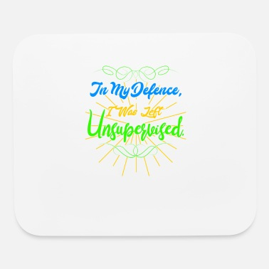 Defence In My Defence Unsupervise - Mouse Pad