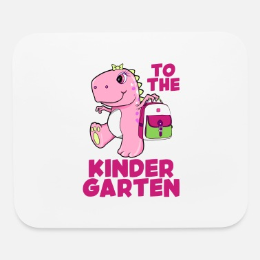 Kindergarten To The Kindergarten Girl - Mouse Pad