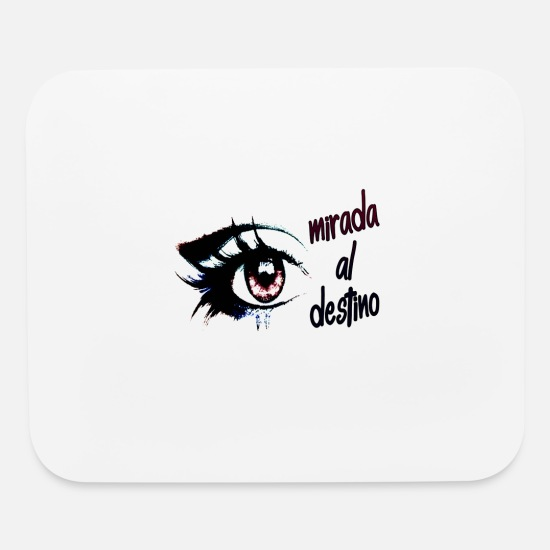 Kids Tshirts Mouse Pads - Look to the destination - Mouse Pad white