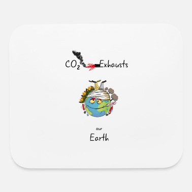 Exhausted Exhausted Earth - Mouse Pad