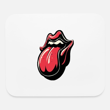 Tongue tongue out - Mouse Pad