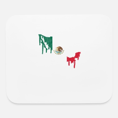 Mexico Paint Drip - Mouse Pad