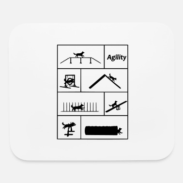 Agility Agility obstacles - Mouse Pad